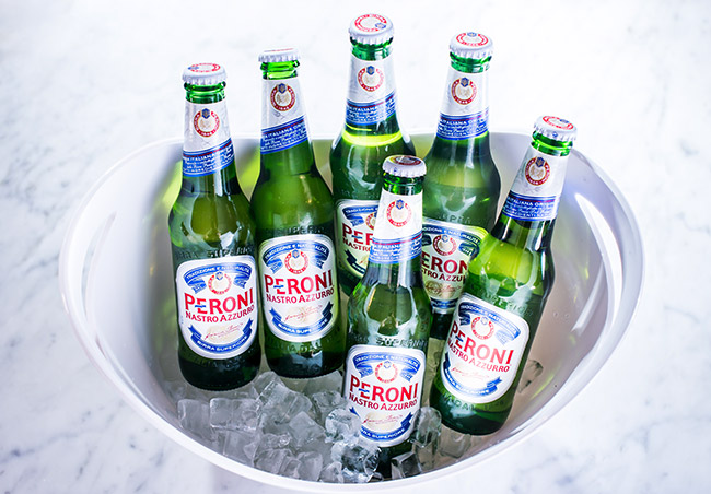 Peroni ice bucket