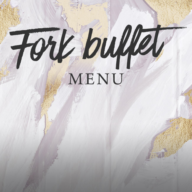 Fork buffet menu at The Derby Arms