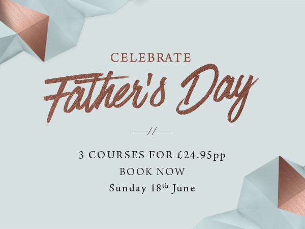 Father's Day at The Derby Arms - Book now