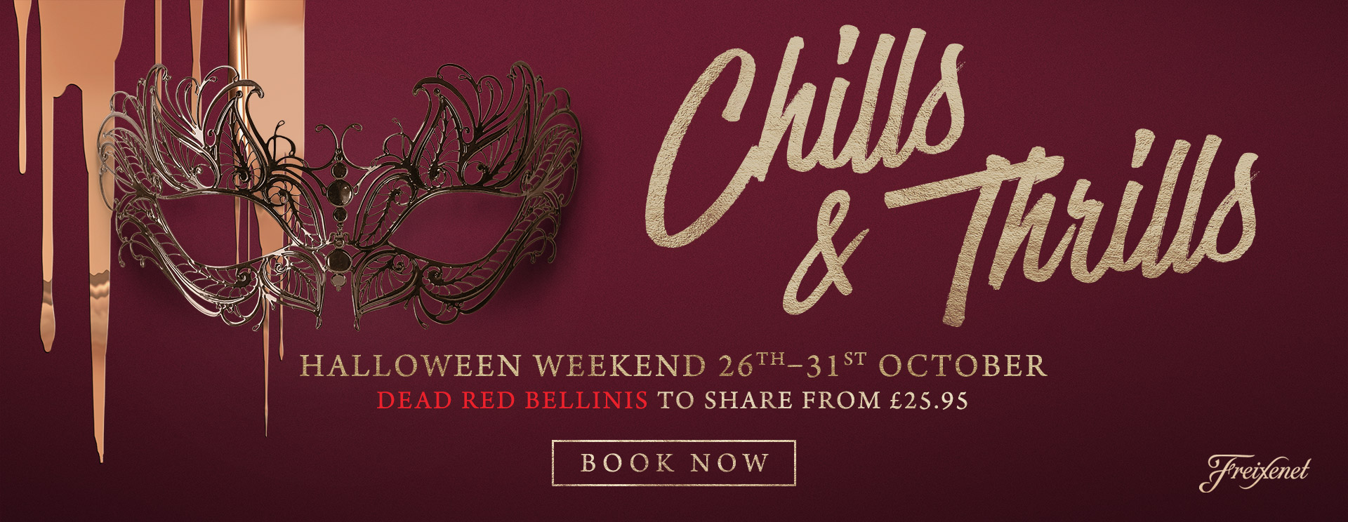 Chills & Thrills this Halloween at The Derby Arms